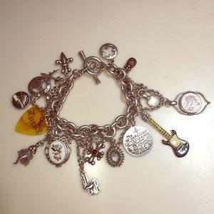 Lucky Brand Hawaiian Themed Charm Bracelet